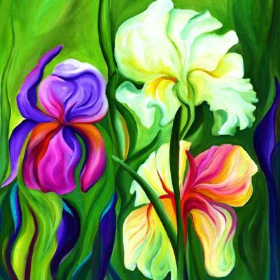 Irises, My Delight